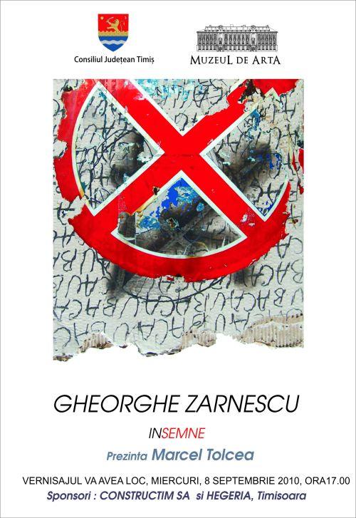 Expozitie Gheorghe Zarnescu - INSEMNE