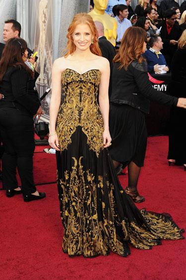 Jessica Chastain la Oscar