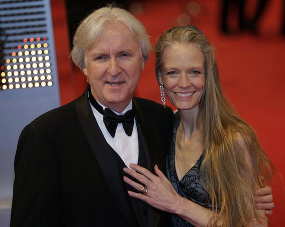 James Cameron Cameron si Suzy Amis