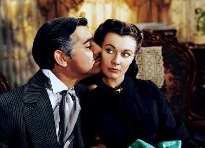 Clark Gable si Vivien Leigh, Pe aripile vantului