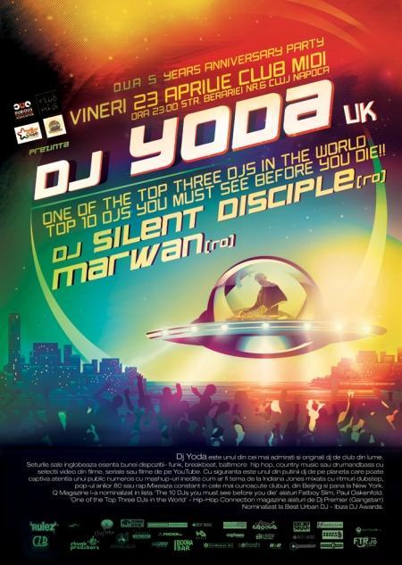 DJ YODA // DJ Silent Disciple // Marwan @ Club Midi
