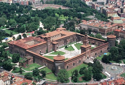 Castelul Sforzesco, Milano