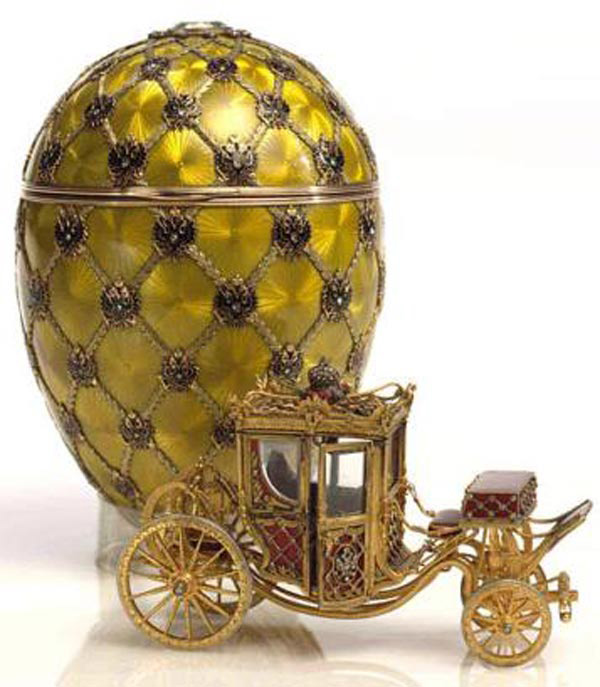Ou imperial Faberge