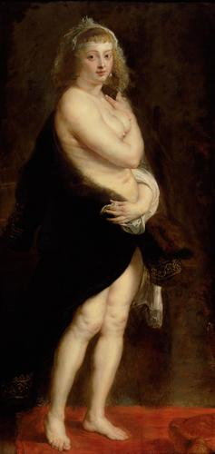 Helene, a doua sotie a lui Rubens