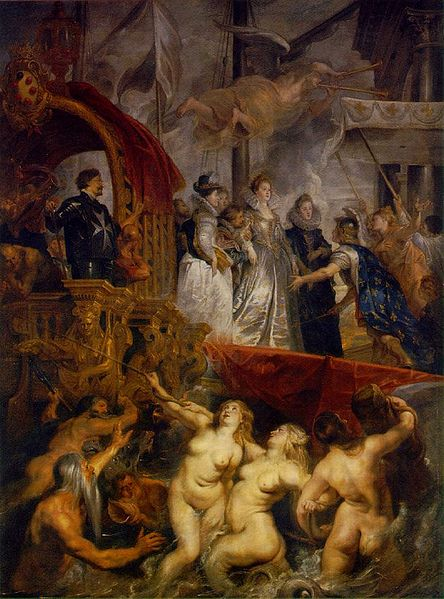 Maria de Medici la Marsilia