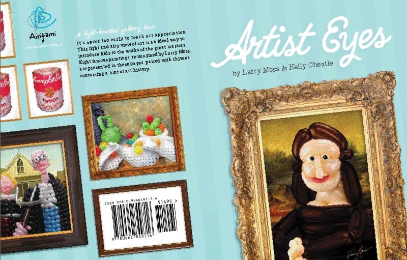 Cartea Artist Eyes apare in luna iulie, 2011