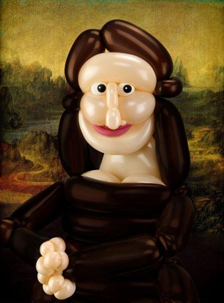 Mona Lisa lui Da Vinci in viziunea lui Larry Moss