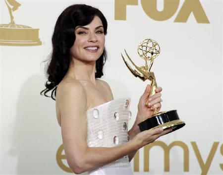 Julianna Margulies la Emmy 2011