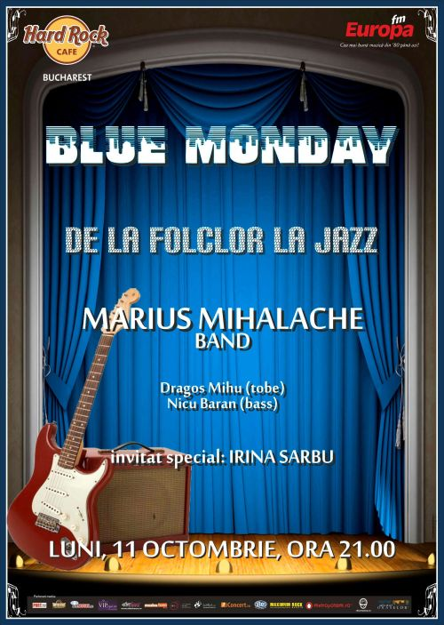 Marius Mihalache Band la Hard Rock Cafe