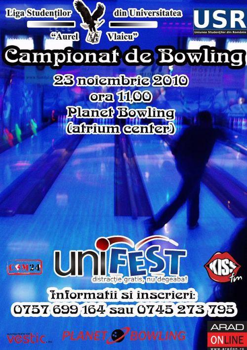 campionat de bowling