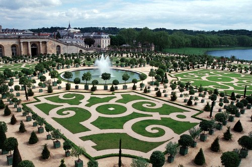 Gradina la Versailles