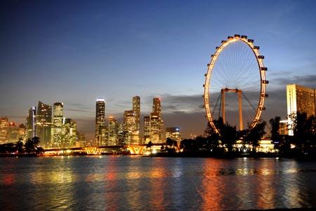 Singapore Flyer, cea mai mare roata Ferris din lume