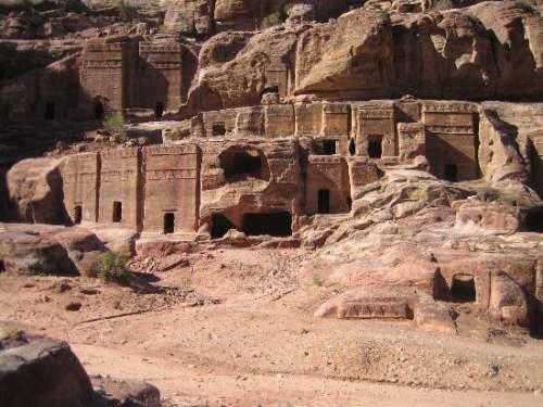 Interiorul orasului Petra