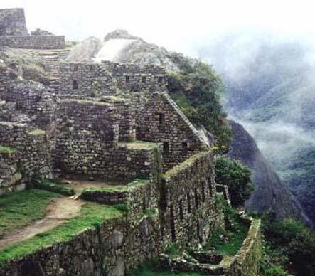 Machu Picchu - Interior