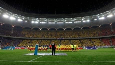 Inaugurarea national arena prin meciul romania franta