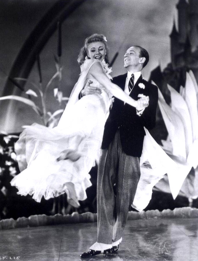 Fred Astair si Ginger Rogers