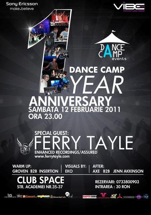 Aniversare Dance Camp cu Ferry Tayle