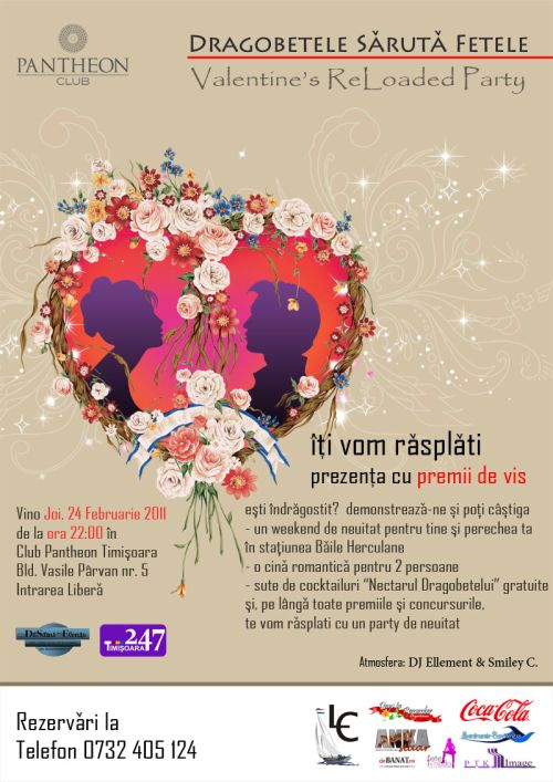 Valentine\'s ReLoaded Party @ Pantheon Club