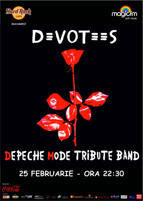 Concert Devotees – Tribut Depeche Mode in Hard Rock Cafe