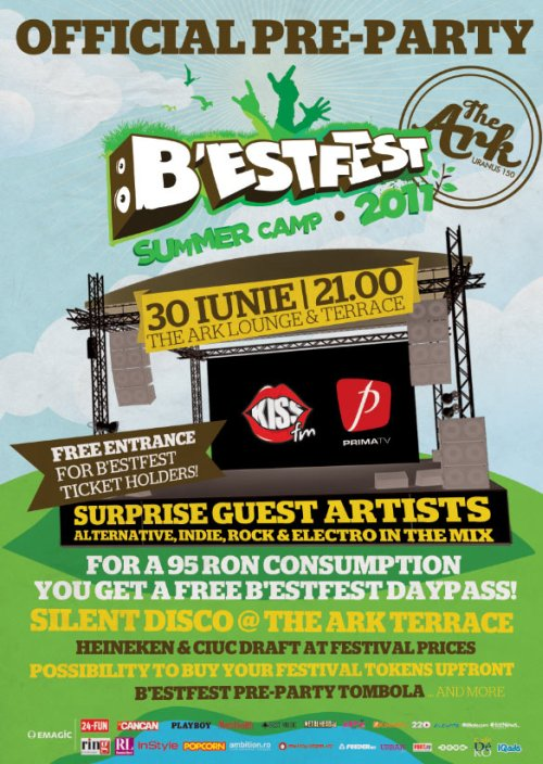 Pre-party B\'ESTFEST Summer Camp 2011!