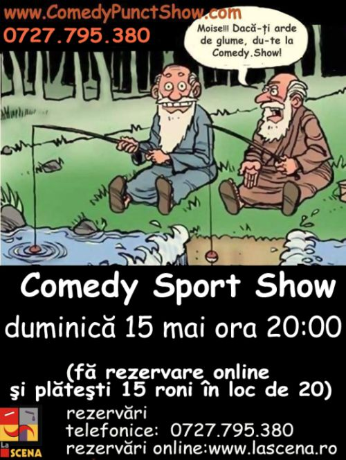 COMEDY Sport SHOW - Teatrul Arca