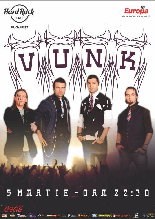 Concert Vunk @ Hard Rock Cafe
