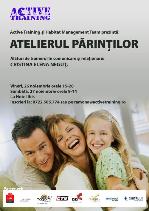 Atelierul parintilor la Constanta