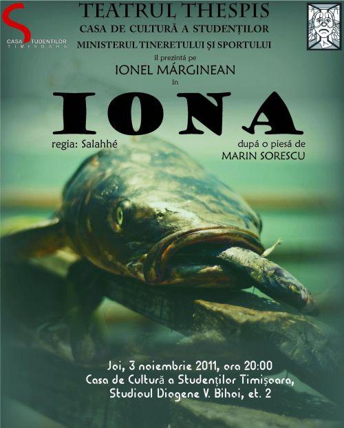 Iona - mono-drama dupa Marin Sorescu