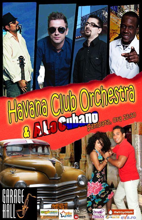 Seara cubaneza alaturi de Havana Club Orchestra
