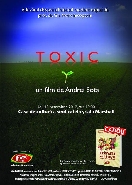 TOXIC, primul film romanesc despre alimentatia moderna
