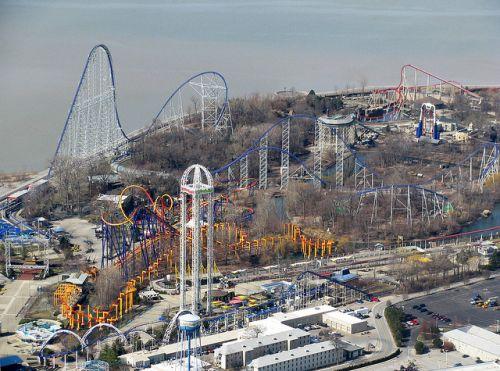 parcul de distractii Cedar Point, Ohio