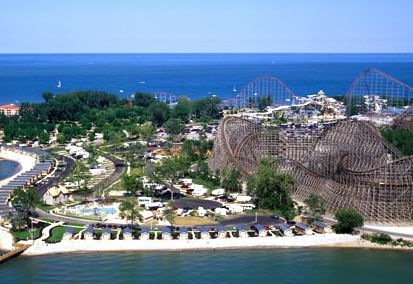 parcul de distractii Cedar Point din Ohio