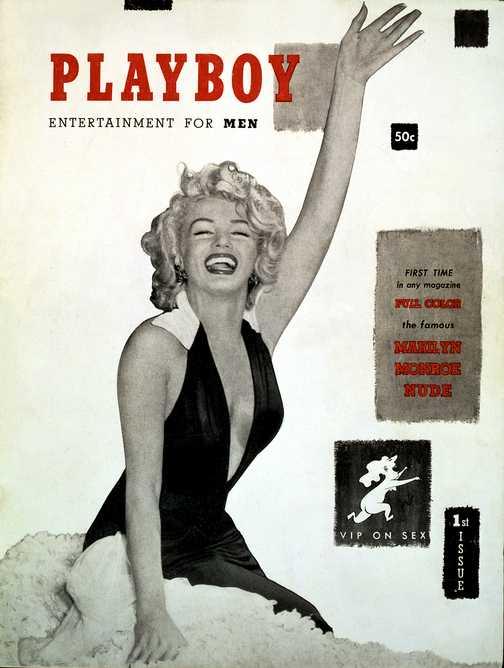 Playboy cu Marilyn Monroe