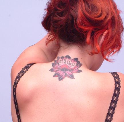 tatuaj cu nufar