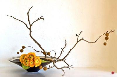 Aranjament floral - Ikebana