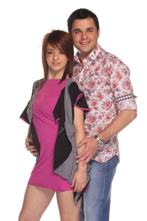 Gabriel Coveseanu si Claudia Raea