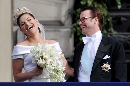 Nunta Victoria a Suediei cu Daniel