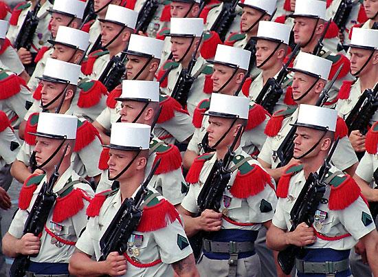 Legiunea Straina - armata