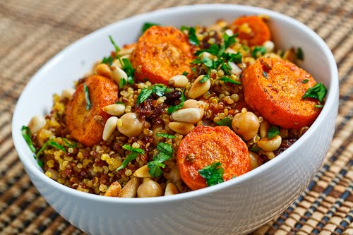 Salata cu quiona si morcovi