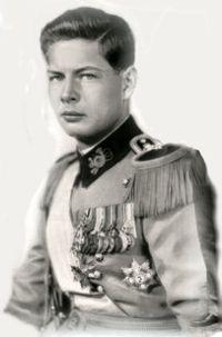 Regele Mihai in tinerete