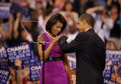 Barack Obama si sotia sa, Michelle Obama (foto telegraph.co.uk)