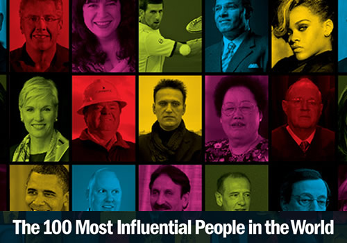 Top 100 cei mai influenti oameni din lume in 2012