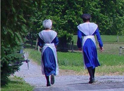 Femeile din comunitatea Amish
