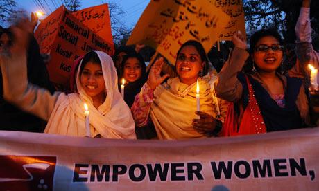 Mars de Ziua Femeii in Pakistan