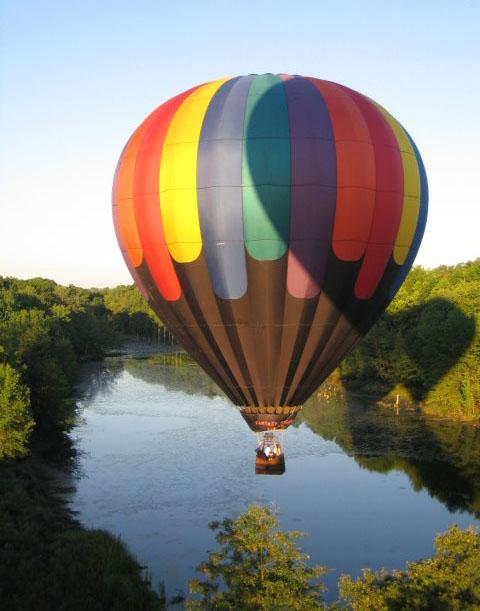Zborul cu balonul cu aer cald