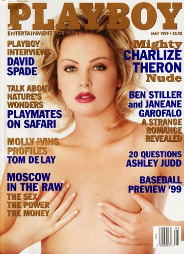 Charlize Theron in Playboy
