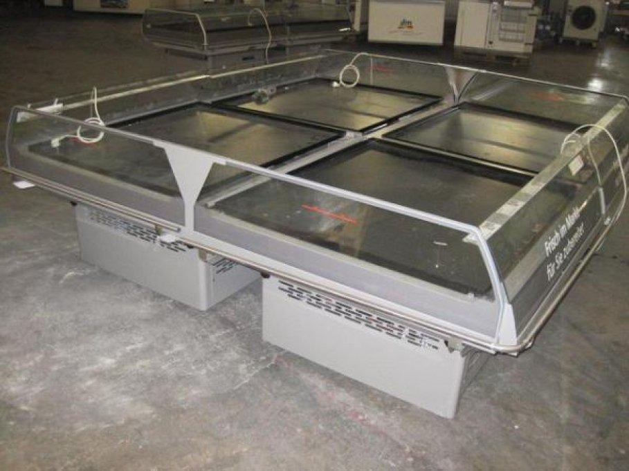 Echipamente frigorifice second hand (rafturi, compresoare, vitrine)