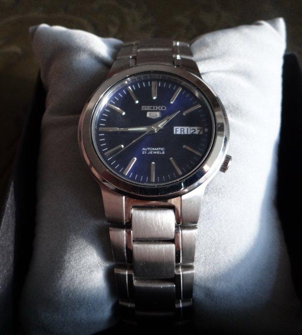 Seiko 5 Blue