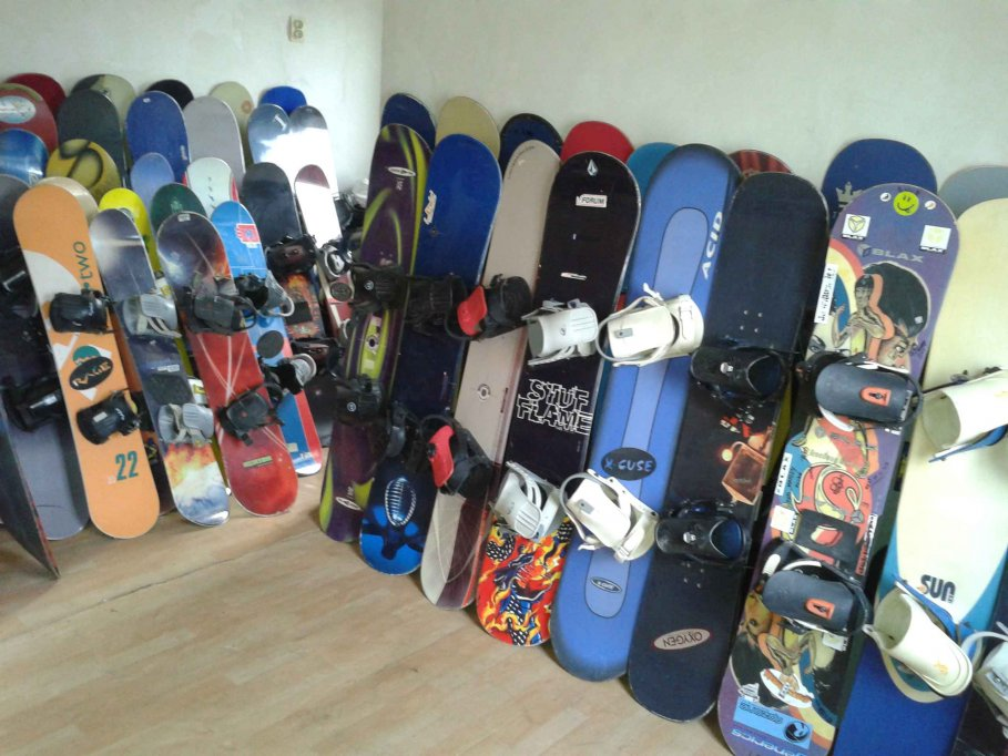 Snowboard si Boots