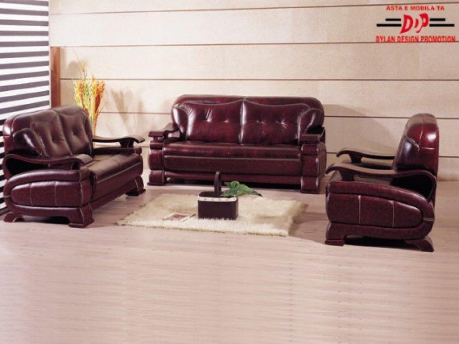 Set canapele piele model A724